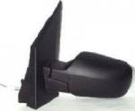 Ford Fiesta [02-05] Complete Cable Adjust wing Mirror Unit - Black